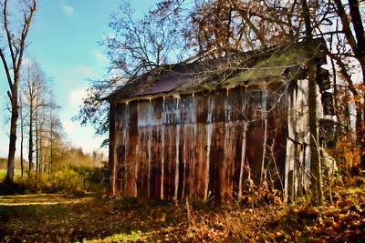 Photograph - Secluded Barn - Rural Dreams 2 by Greg Jackson