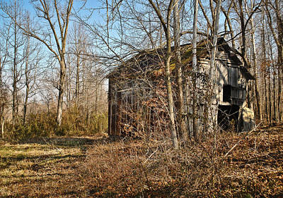 Photograph - Secluded Barn Series 2 by Greg Jackson