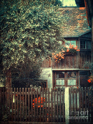 Photograph - Secluded Corner by Jutta Maria Pusl