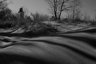 Photograph - Secluded Lighthouse by David Dufresne