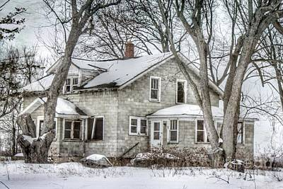 Nikki Vig Royalty-Free and Rights-Managed Images - Secluded Old House by Nikki Vig