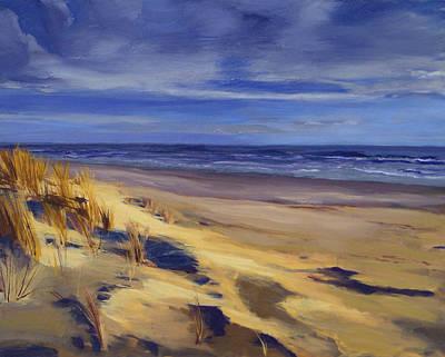 Second Beach Newport Rhode Island Art Print