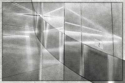 Digital Art - Second Floor Transitions by Georgianne Giese