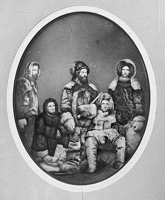1850s Photograph - Second Grinnell Expedition by Us National Archives