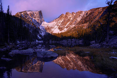 Rocky Mountain Photograph - Second Light by Chad Dutson