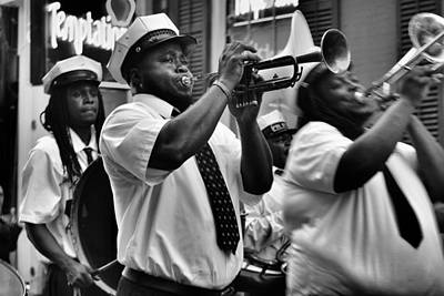 Photograph - Second Line by Nadalyn Larsen