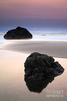 Beach Photograph - Second Rock From The Sun by Mike  Dawson