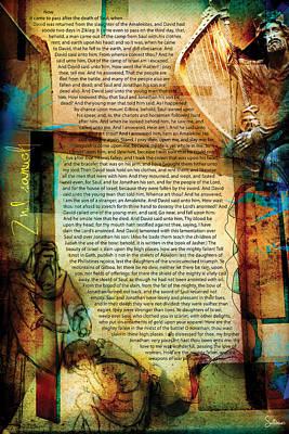 Crucify Digital Art Digital Art - Second Samuel 1 by Switchvues Design