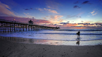 San Clemente Beach Photograph - Second Shift by Sean Foster