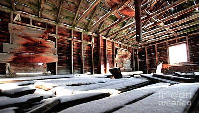 Buckaroo Photograph - Second Story Homestead Harney Oregon by Michele AnneLouise Cohen