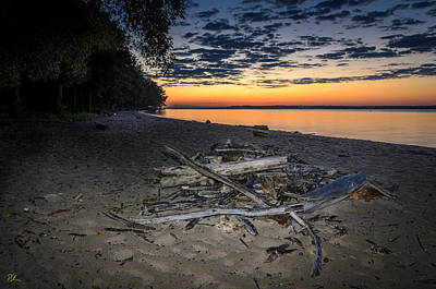 Photograph - Seconds Before Potomac Sunrise by Pat Scanlon