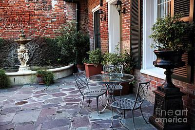 Photograph - Secret Courtyard by John Rizzuto