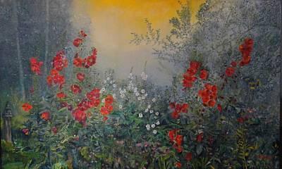 Painting - Secret Garden 110x180 Cm by Dagmar Helbig