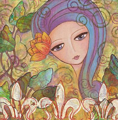 Secret Garden Art Print by Joann Loftus
