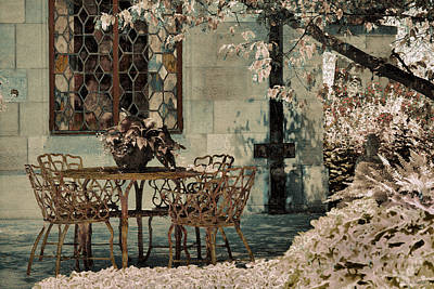 Art Print featuring the photograph Secret Garden by Lauren Radke