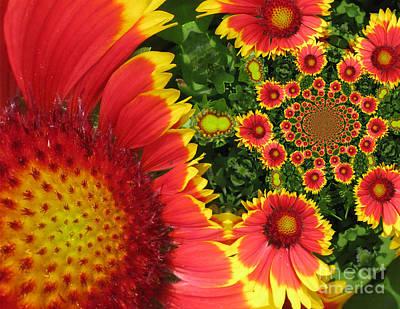 Magissimo Digital Art - Secret Garden by Maria Watt