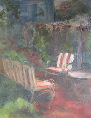Susan L Richardson Art Painting - Secret Garden by Susan Richardson