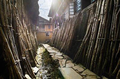 Photograph - Secret Lane by Afrison Ma
