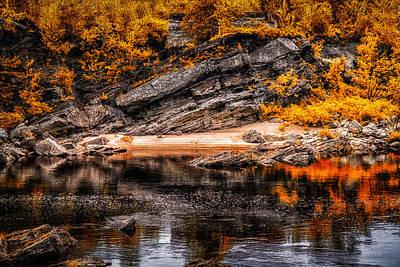 Androscoggin River Photograph - Secret Places IIi by Bob Orsillo