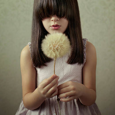 Dandelion Photograph - Secret Wishes by Svetlana Bekyarova