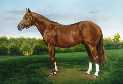 Secretariat Painting - Secretariat by David Henderson