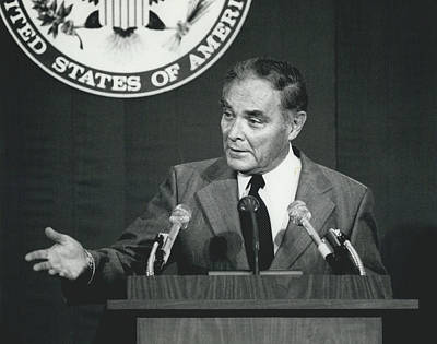 Secretary Haig Holds Press Conference Art Print by Retro Images Archive