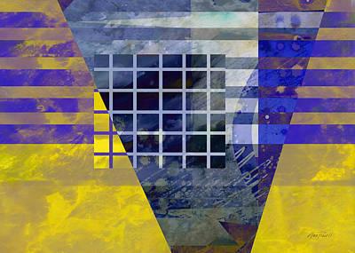 Secrets - Abstract Art Art Print by Ann Powell