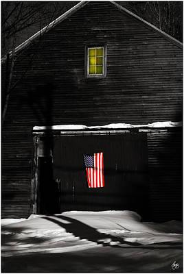 Photograph - Secrets Of The Patriot by Wayne King