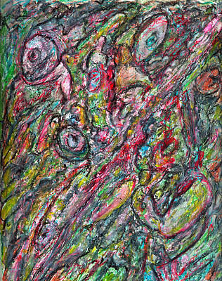 Secrets Of The Subconscious Art Print by Yuri Lushnichenko