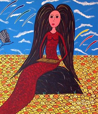 Painting - Secrets by Sandra Marie Adams