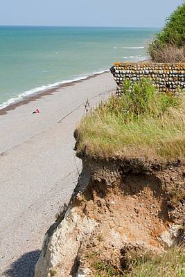 Garden House Photograph - Section Of The Norfolk Coast At Weybourne by Ashley Cooper