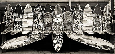 Sector9 Seat On The Board Art Print