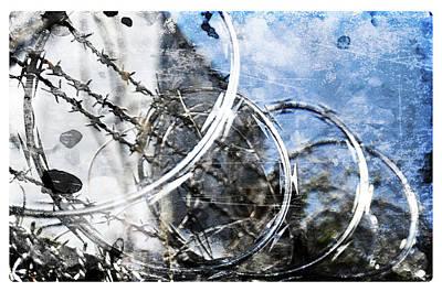 Photograph - Secured Grunge by Davina Washington