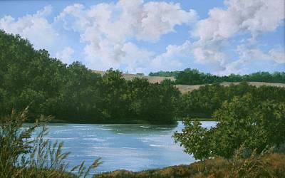 Painting - Sedan Lake by Lynne Wright