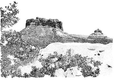 Sedona 1 Art Print