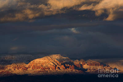 Photograph - Sedona Arizona After The Storm by Ron Chilston