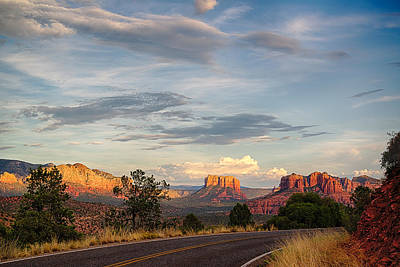 Cathedral Rock Photograph - Sedona Arizona Allure Of The Red Rocks - American Desert Southwest by Silvio Ligutti