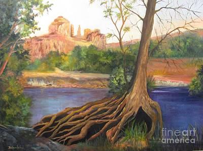 Painting - Sedona Arizona by Barbara Haviland