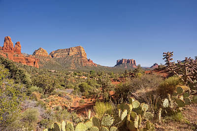 Photograph - Sedona Arizona Landscape 3 by Marianne Campolongo