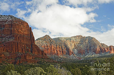 Sedona Arizona Landscape Art Print by Nick  Boren