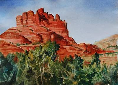 Painting - Sedona Arizona by Marilyn  Clement