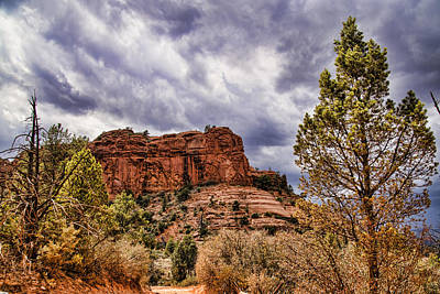 Cathedral Rock Photograph - Sedona Arizona Mountain Scenery by Jon Berghoff