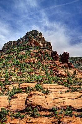 Oak Creek Photograph - Sedona Arizona Mountains by Jon Berghoff