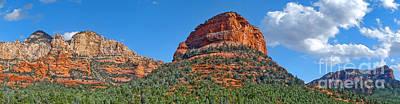 Sedona Arizona Panorama Art Print by Gregory Dyer