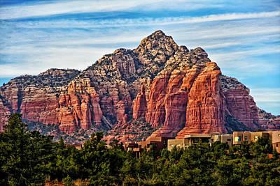 Oak Creek Photograph - Sedona Arizona Red Rock by Jon Berghoff