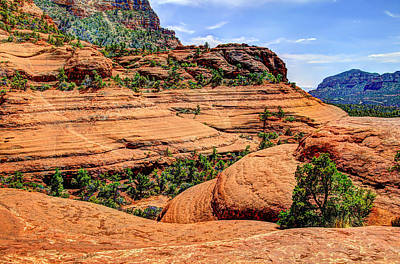 Oak Creek Photograph - Sedona Arizona Scenery by Jon Berghoff