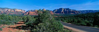 Sedona Arizona Photograph - Sedona, Arizona, Usa by Panoramic Images