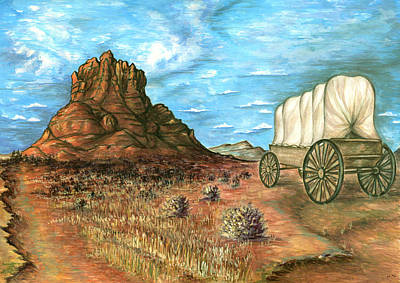 Painting - Sedona Arizona - Western Art by Peter Potter