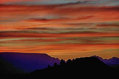Sedona Az Sunset 2 Art Print