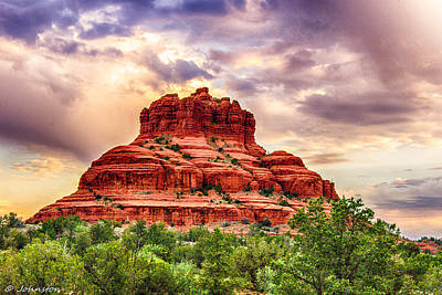 Photograph - Sedona Bell Rock Vortex In Spring by Bob and Nadine Johnston
